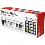 Ik multimedia IRigKEYS+iRigPads Contrôleur midi USB Clavier Noir