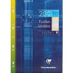 Clairefontaine 200 feuillets mobiles Seyes (A4)