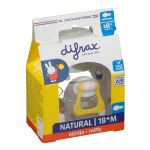 Difrax Sucette Natural 18+ Miffy