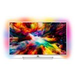 Philips TV LED TV 55PUS7363 4K UHD Ambilight 3 côtés Pied