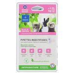 Demavic Lot de 2 pipettes insectifuges NAC - Pour chaton