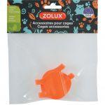 Zolux Crochet Cage Indoor x2 - orange - small