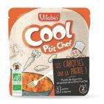 Vitabio Cool P'tit Chef - Menu Express Légumes et Féculents - 190 g Puré