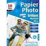 Micro application 50 feuilles de papier photo 170g/m² (A4)