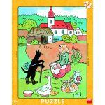 Dino Puzzle Cadre - En Voyage