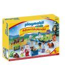 Playmobil 9391 - Calendrier de l'Avent 1.2.3 'Père Noël et animaux de la forêt'