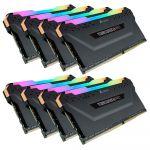 Corsair DDR4 Vengeance RGB PRO Noir 8 x 8 Go 3200 MHz CAS 16