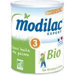 Modilac Expert bio 3ème âge 800 g - de 10 à 36 mois