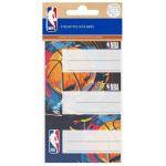 Lot de 9 étiquettes 80x40mm - NBA