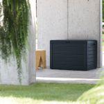 Prosperplast Boardebox Garden Box Coussin Box Coffre de Jardin verrouillable 280 litres Anthracite