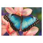 Dino Puzzle 500 pièces : Papillon - Mixte