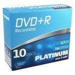 Platinum 102566 - DVD+R 4.7 Go 120 min (10 pièces)