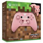 Microsoft Manette sans fil Xbox Minecraft Pig