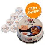 Animonda 12x80g Ocean lot mixte I 3 x 4 saveurs Carny - Pâtée pour chat