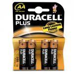 Duracell Plus 4 piles AA (LR06)