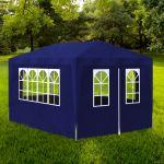 VidaXL Tonnelle de jardin/Tente de réception 3 x 4 m