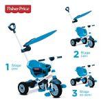 SmarTrike Tricycle Charm Plus 3 en 1 - Bleu
