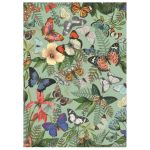 Dino Puzzle 1000 pièces : Prairie aux papillons - Mixte