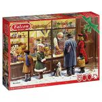 Diset Puzzle 500 pièces : Vitrine de Noël