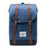 Herschel Retreat Backpack 19,5l Unisex, faded denim/indigo denim Sacs à dos loisir & école
