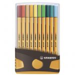 Stabilo Feutre point 88, ColorParade de 20, gris/orange