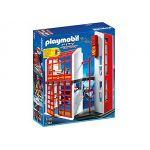 Playmobil 5361 City Action - Caserne de pompiers avec alarme