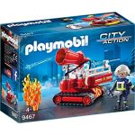 Playmobil 9467 - Pompier Avec Robot D'intervention