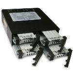 """Icy Dock MB994SP-4SB-1 - Rack pour 4 disques durs 2.5"""" SATA dans baie 5.25"""""""