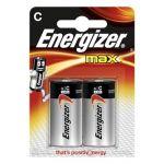 Energizer Piles LR14/C Max - Les 2 piles