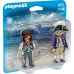 Playmobil 6846 - Duo pack Pirate et Soldat