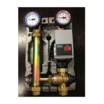 Silverlit Module hydraulique à mélange Wilo 25-60 pour le chauffage par le sol - SILV