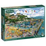 Diset Puzzle 1000 pièces : Port de Newquay