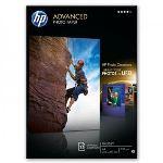 HP Q5456A - 25 feuilles de papier photo Advanced Glossy 250g/m² (A4)