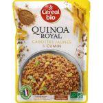 Céréal bio Quinoa royal carottes jaunes & cumin