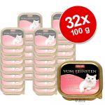 Animonda 32x100g Adult dinde, lapin Vom Feinsten - Nourriture pour Chat