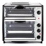 OneConcept All-You-Can-Eat - Four double avec grill 42 L