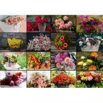 Grafika Collage - Bouquets de Fleurs