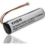 Vhbw Batterie compatible avec TomTom Rider système de navigation GPS (2200mAh, 3,7V, Li-ion)