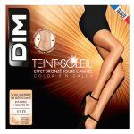 DIM Collant voile effet naturel 17D Chaussant TEINT DE SOLEIL clair