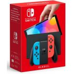 Nintendo Console Switch OLED + Joy Con Bleu Rouge Néon