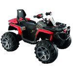 RunRun Toys Quad Maverick 12 V - Rouge
