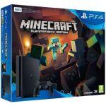 Sony PS4 500 Go Slim Console + Minecraft