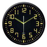 Orium Horloge silencieuse contraste