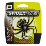 Spiderwire Smooth 8 Tresse Mixte, Jaune, 150 m/0.20 mm