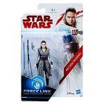 Hasbro Star Wars Episode VIII - Figurine 10 cm Héros 1 - Rey Entrainement Jedi (C1504)