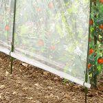 ProBache Serre à tomates 3 arceaux 200x120x180cm