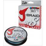 Daiwa J-Braid 8 Braid 0.10mm, 6,0kg/13,0lbs, 300m multicolore