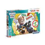 Clementoni Puzzle SuperColor 104 pièces - Puppy Dog Pals