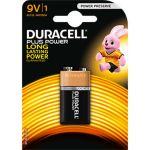 Duracell Plus Power 9V 6LR61 blister de 1 pile