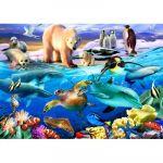 Bluebird Puzzle Puzzle Oceans of Life